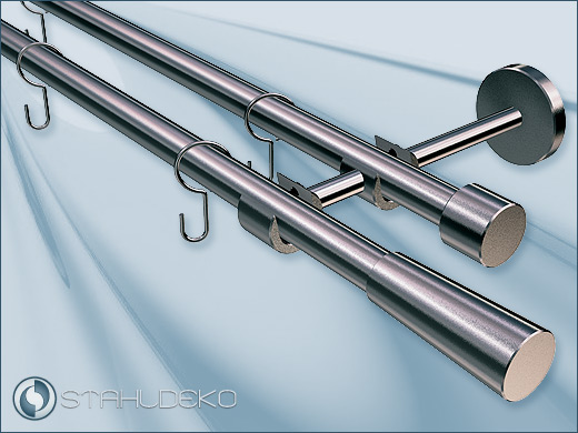 Curtain Rods With Hooks - Curtains Design Gallery